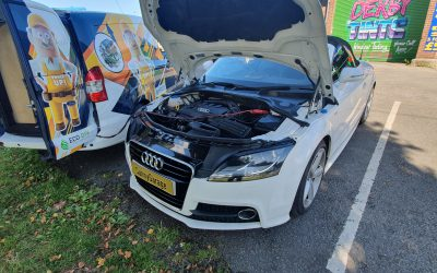 Audi TT 8J 2.0 TFSI 200 bhp CUSTOM TUNING STAGE1